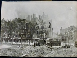 PHOTO Presse WW2 WWII : BERLIN _ Avril 1945 - Krieg, Militär