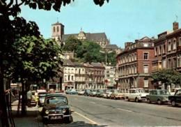 CPM - LIEGE - Boulevard De La Sauvenière …(Voitures Renault Dauphine Et Autres) - Lüttich