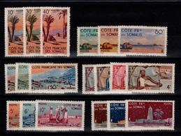 Cote Des Somalis - YV 264 à 282 N** Cote 28+ Euros - Côte Française Des Somalis (1894-1967)