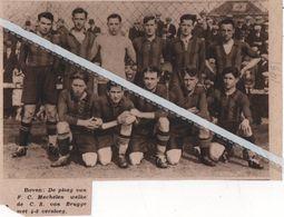 VOETBAL..1931..MECHELEN F.C. - Non Classés