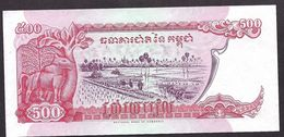 """500  Riels  """"CAMBODGE""""  1988       UNC     Ro40 - Cambodge"""