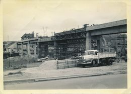 57) ALGRANGE Ou Environs - Photo Construction D'un Pont - Archive D'une Famille D'Algrange (13 X 18 Cm) Camion UNIC - Francia