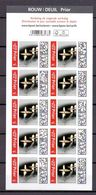 Boekje 168 Prior Rouwzegels ( Belgie ) Postfris** 2019 - Markenheftchen 1953-....