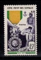 Cote Des Somalis - YV 284 N** Medaille Militaire Cote 11+ Euros - Côte Française Des Somalis (1894-1967)