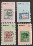 "KIRIBATI  YT 17/20 NEUF* MH ""SIR ROWLAND HILL"" ANNÉE 1979 - Kiribati (1979-...)"