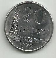 Brazil 20 Centavos 1975. - Brazil