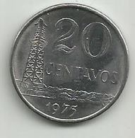 Brazil 20 Centavos 1975. - Brasilien
