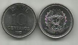 Brazil 10 Centavos 1987 - Brasilien