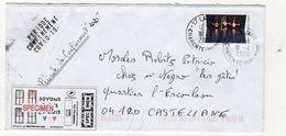 France,covid 19,coronavirus, Lettre à Voir,2020 - Poststempel (Briefe)