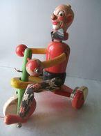 Jouet En Bois (Educa )  : Clown Sur Son Tricycle - Toy Memorabilia