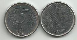 Brazil 5 Centavos 1994. - Brazil