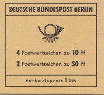 BERLIN Markenheftchen MH 6a, Postfrisch **, Brandenburger Tor 1970 - Berlin (West)