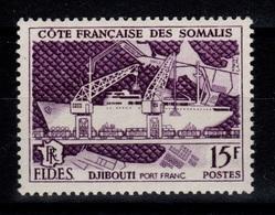 Cote Des Somalis - YV 285 N** Fides Cote 2,50+ Euros - Côte Française Des Somalis (1894-1967)