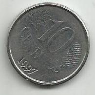 Brazil 10 Centavos 1997. - Brasilien