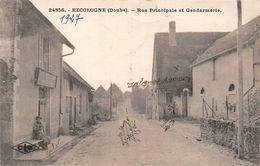 Recologne Canton Audeux Gendarmerie - Autres Communes