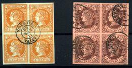 España Nº 52, 58. Año 1860/62 - Usados