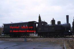 ReproductionPhotographie D'un Ancien Train Du Montpellier-Palavas En 1969 - Reproductions