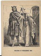 CHILPERIC ET FREDEGONDE 568 IMAGE - Histoire
