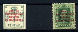 Marruecos Español Nº 74, 83. Año 1921/30 - Spanish Morocco
