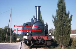 ReproductionPhotographie D'une Vue De Face D'un Ancien Train Du Montpellier-Palavas En 1969 - Reproductions