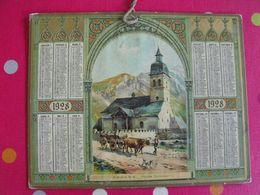 Almanach Des PTT . Calendrier Poste 1928. Arrens Hautes-Pyrénées - Calendriers