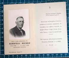 Necrologio Luttino - ALBERTELLI MICHELE (nascita 1904 Morte 1968 ) Monastero Bormida Asti - Obituary Notices