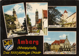 88288- AMBERG- CHURCHES, FORTRESS, TOWN HALL, CAR - Amberg