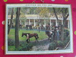 Almanach Des PTT. Cantal. Calendrier Poste 1969. Paddock De Longchamp, Paturage En Vercors - Calendriers
