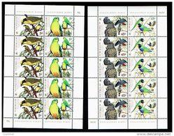 Australie - Australia 1998 Yvert 1683-86, Fauna Protection WWF, Budgies Birds - Sheetlet - MNH - Ongebruikt