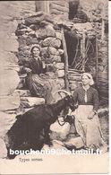 20 St Saint Pierre Venaco Bergerie Type Corse Types Corses Fileuse  Chevre Goat - Autres Communes