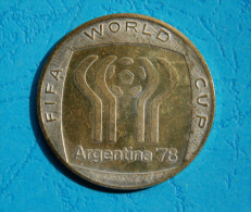 Token /  Gettone ARGENTINA 1978 World Cup - Campeonato Mundial De Futbol - 4 Cm. Diameter - Bekleidung, Souvenirs Und Sonstige