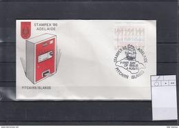 Pitcairn Inseln Michel Cat.No. AT 1 FDC (1) - Briefmarken