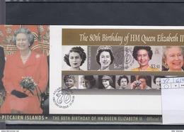 Pitcairn Inseln Michel Cat.No. FDC Sheet 42 QEII - Briefmarken