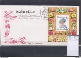 Pitcairn Inseln Michel Cat.No. FDC Sheet 16 - Briefmarken