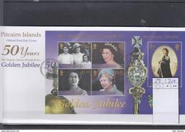Pitcairn Inseln Michel Cat.No. FDC Sheet 29 QEII - Briefmarken