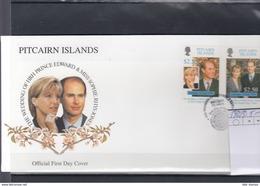 Pitcairn Inseln Michel Cat.No. FDC 542/543 - Briefmarken