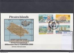 Pitcairn Inseln Michel Cat.No. FDC 538/541 Sailing Ships - Briefmarken