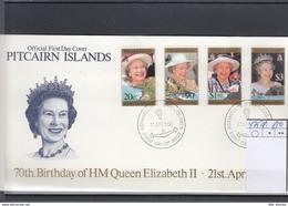 Pitcairn Inseln Michel Cat.No. FDC 475/478 - Briefmarken