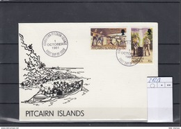 Pitcairn Inseln Michel Cat.No. FDC 212/213 Defs - Briefmarken