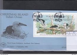 Weihnachts Inseln Michel Cat.No. FDC Sheet 5I - Christmas Island