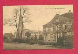 C.P. Doel =  Zicht Op Kerk  En  Pastorij - Beveren-Waas