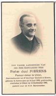 Dp. Pastoor-Deken Te Ukkel. Fierens Pieter. ° Antwerpen 1880 † Ukkel 1940 - Religion & Esotericism