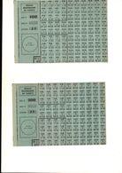 Tickets De Rationnement - Old Paper