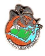 Pin's Gendarmerie Prevoté Division Daguet  Zamac Boussemart - Militaria