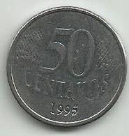 Brazil 50 Centavos 1995. - Brasilien