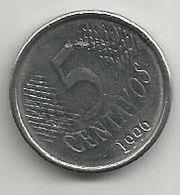 Brazil 5 Centavos 1996. - Brazil