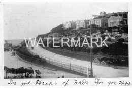 WESTON SUPER MARE BIRKETT ROAD OLD B/W POSTCARD SOMERSET - Weston-Super-Mare