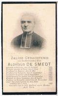 Dp. Pastoor. De Smedt Aloysius. ° Stekene 1834 † Kemseke 1905 (2 Scan's) - Religion & Esotérisme