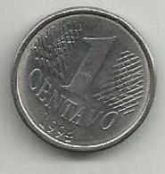 Brazil 1 Centavo 1994. - Brasilien
