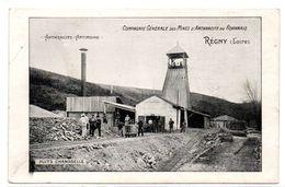 Regny - Compagnie Generale Des Mines D'Anthracite Du Roannais -  Puits Chansselle - RARE -  CPA° - France